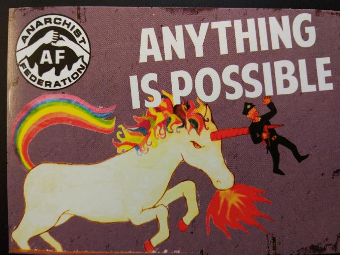 Allt är möjligt. När jag lämnade mässan kände jag mig entusiastisk och full av positiv energi - precis som en enhörning!